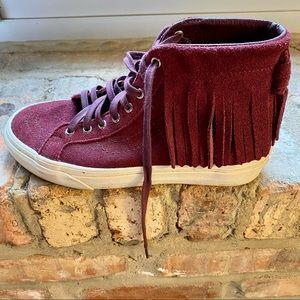 Vans SK8-Hi Fringe Sneakers